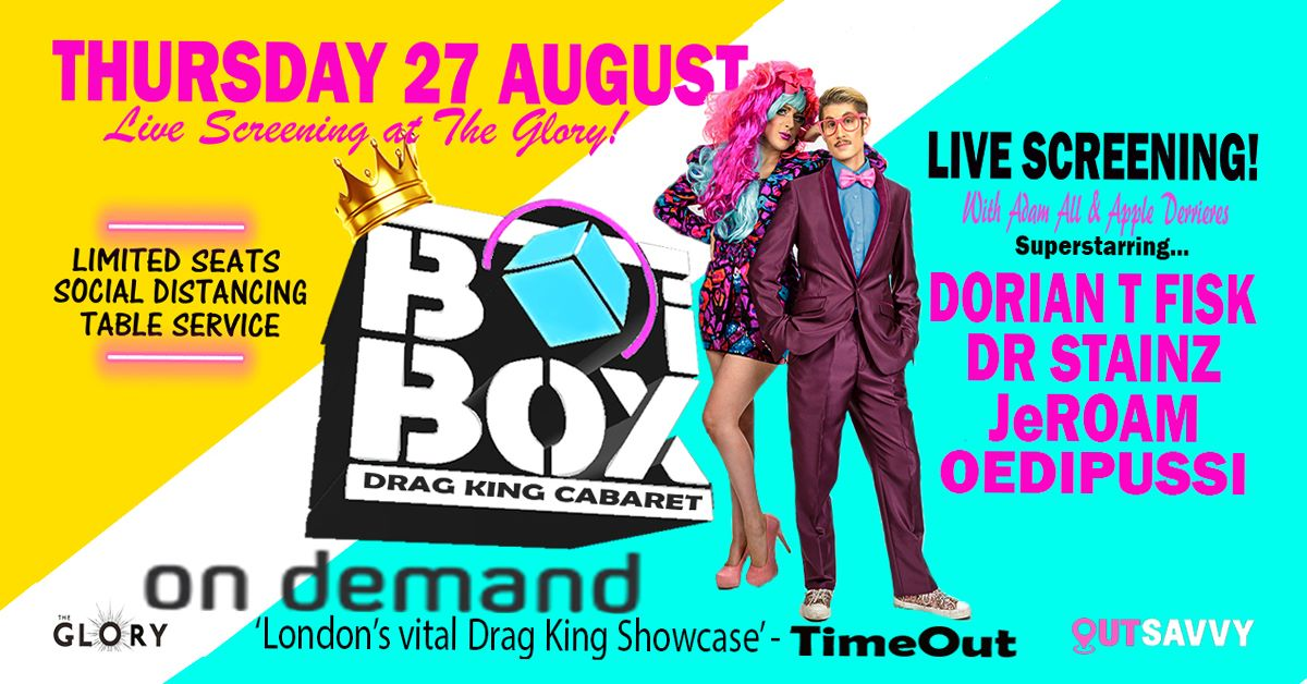BOiBOX on Demand – Viewing Party!