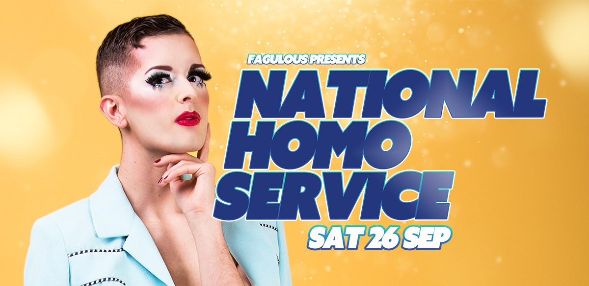 Fagulous presents National Homo Service