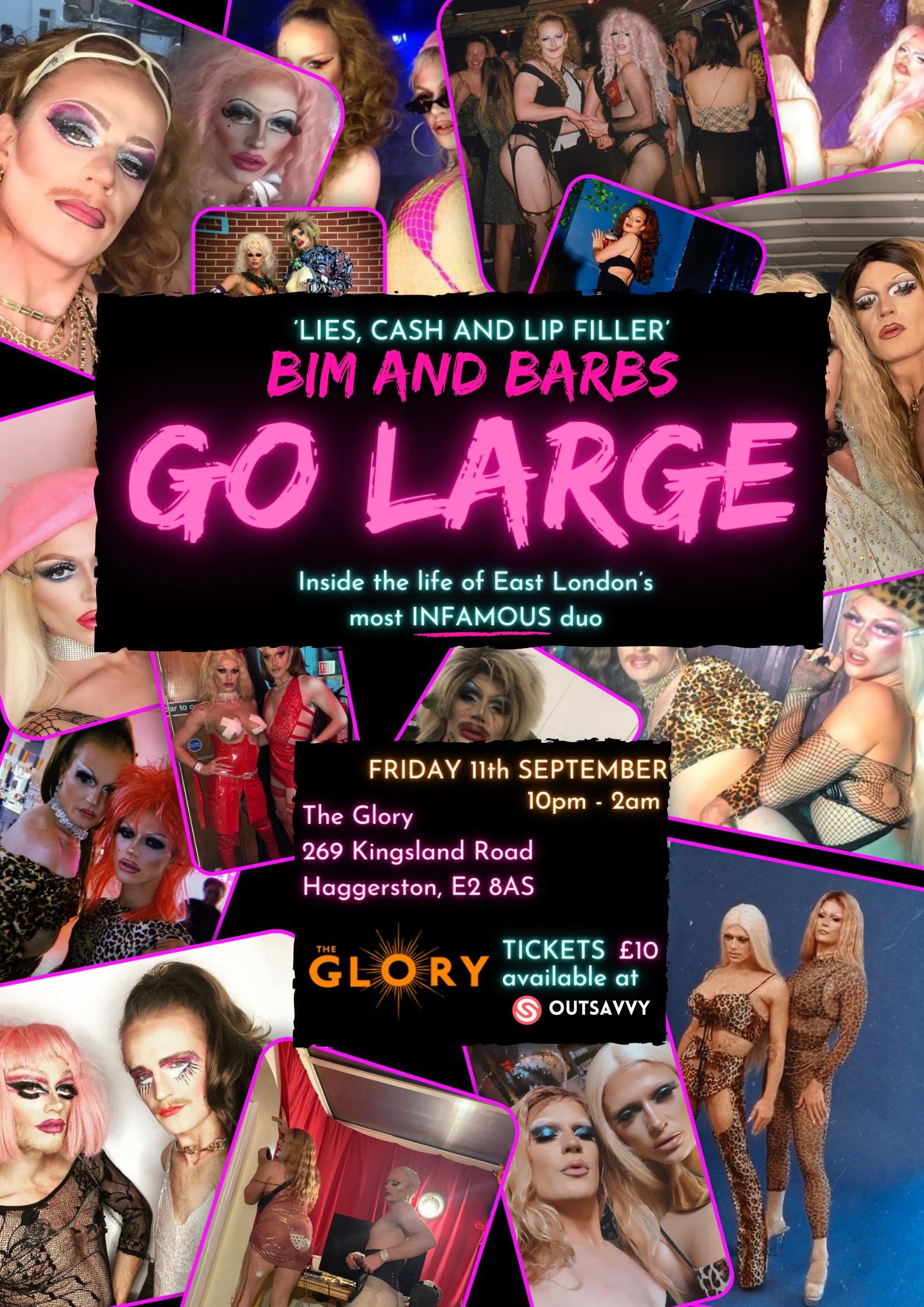 Bim and Barbs Go Large
