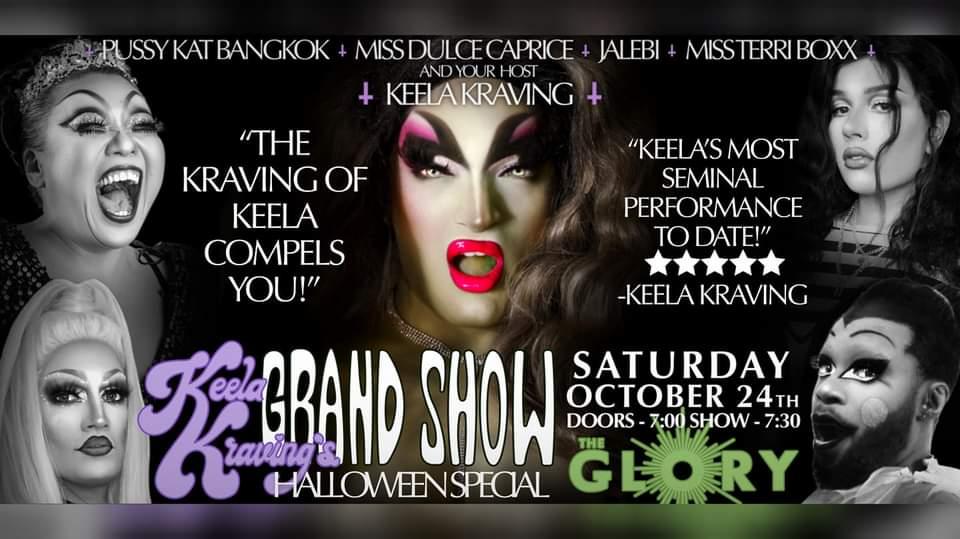 Keela Kraving's Grand Show HALLOWEEN SPECIAL