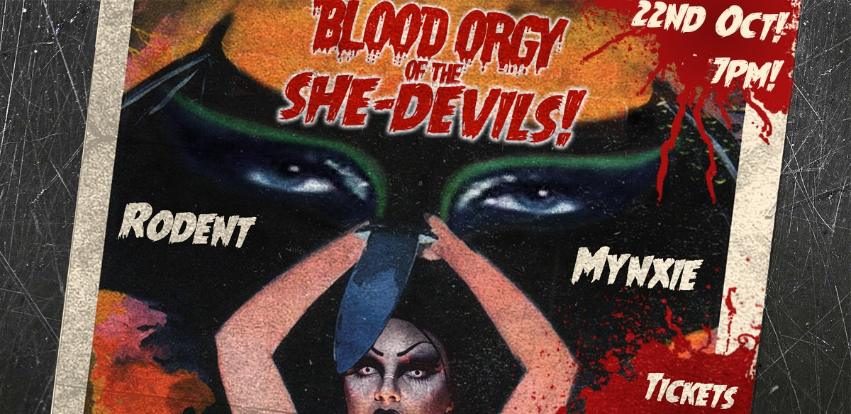 Blood Ørgy of The She-Devils!