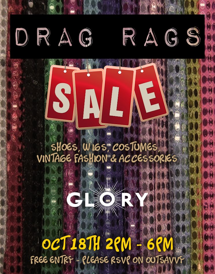 Drag Rags Sale IRL