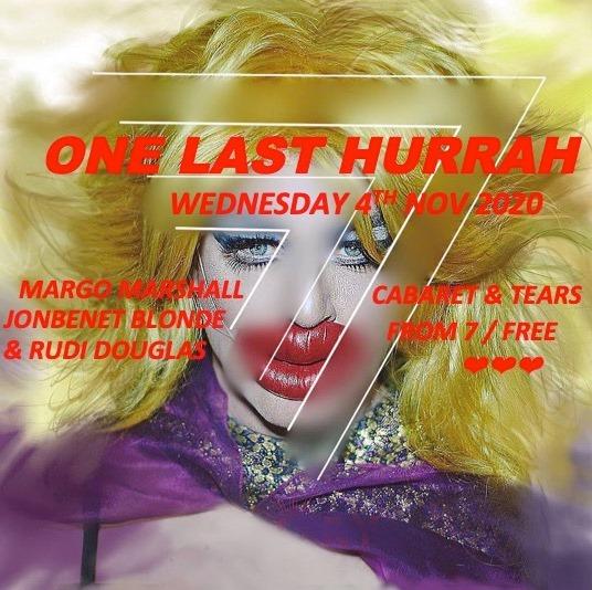 Upstairs: One Last Hurrah – FREE cabaret sesh
