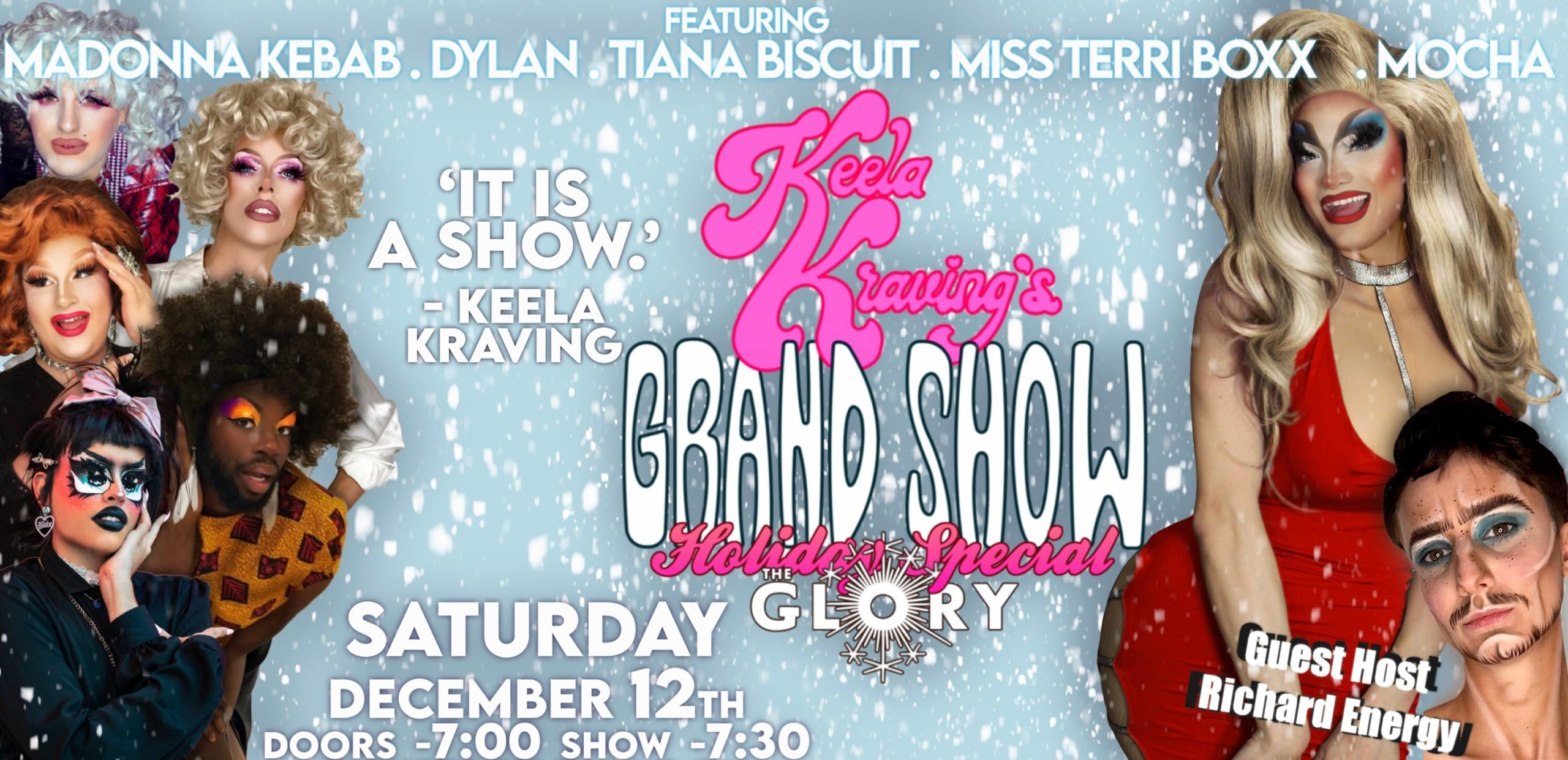 Keela Kraving's Grand Show! HOLIDAY SPECIAL