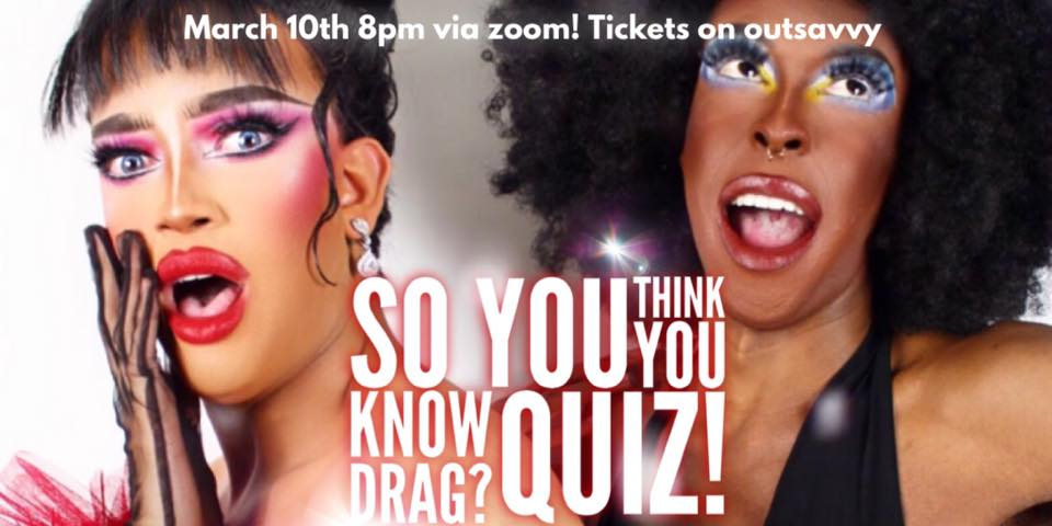So you think you know Drag! QUIZ!