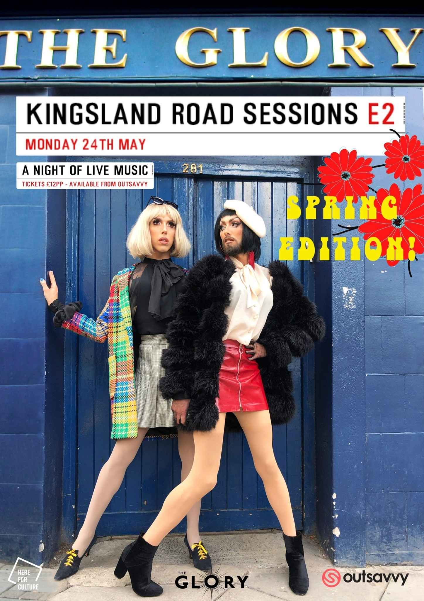Kingsland Road Sessions – Spring Edition!