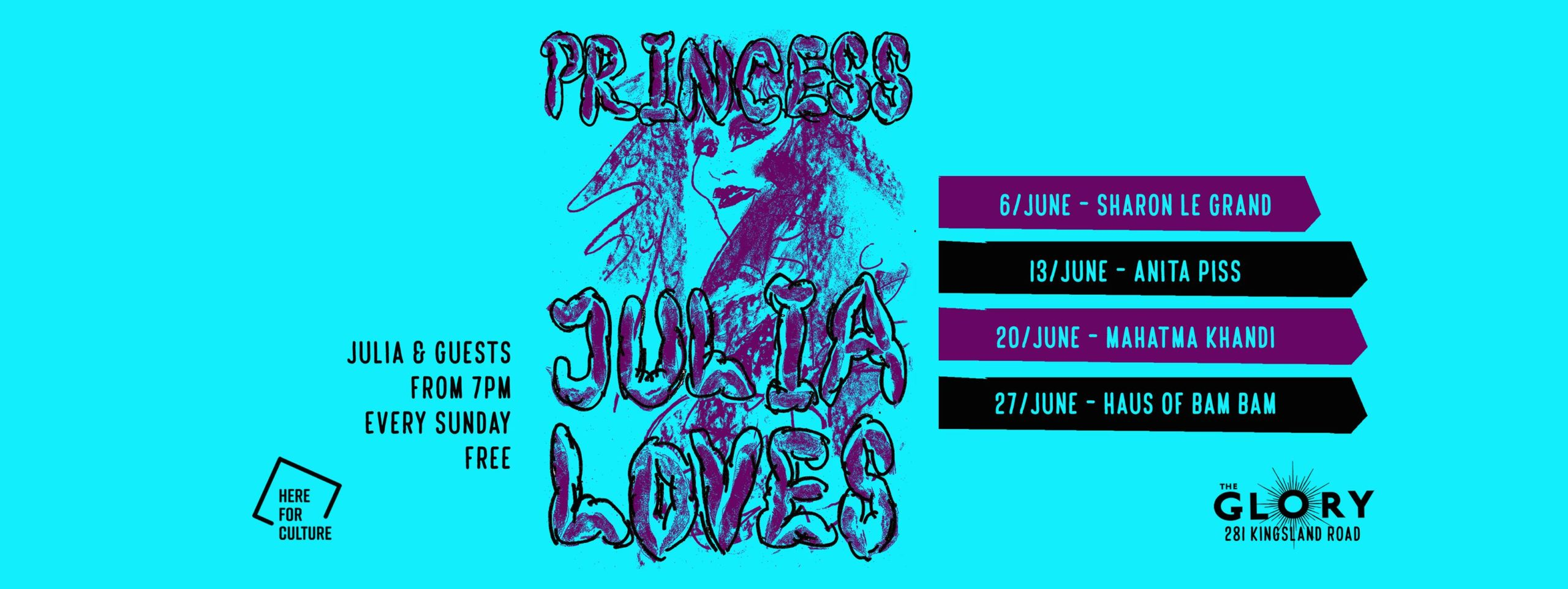 Princess Julia Loves Haus of Bam Bam