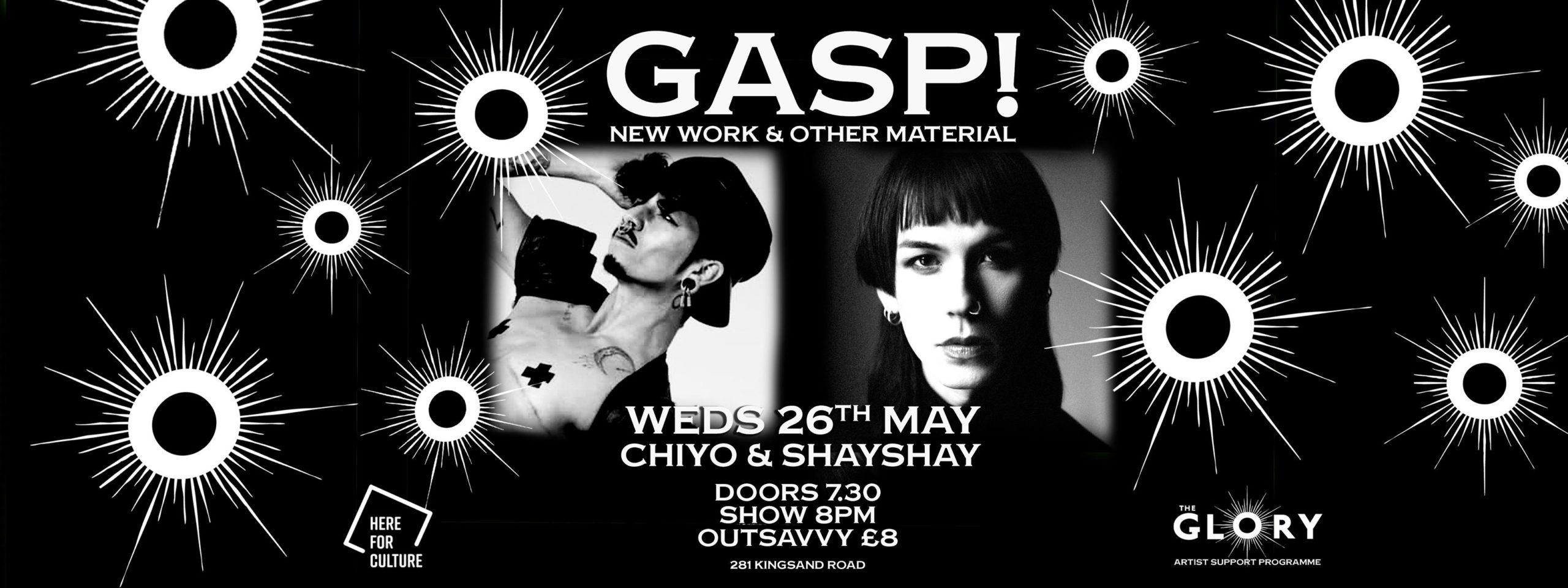 GASP with Chiyo and Shay Shay