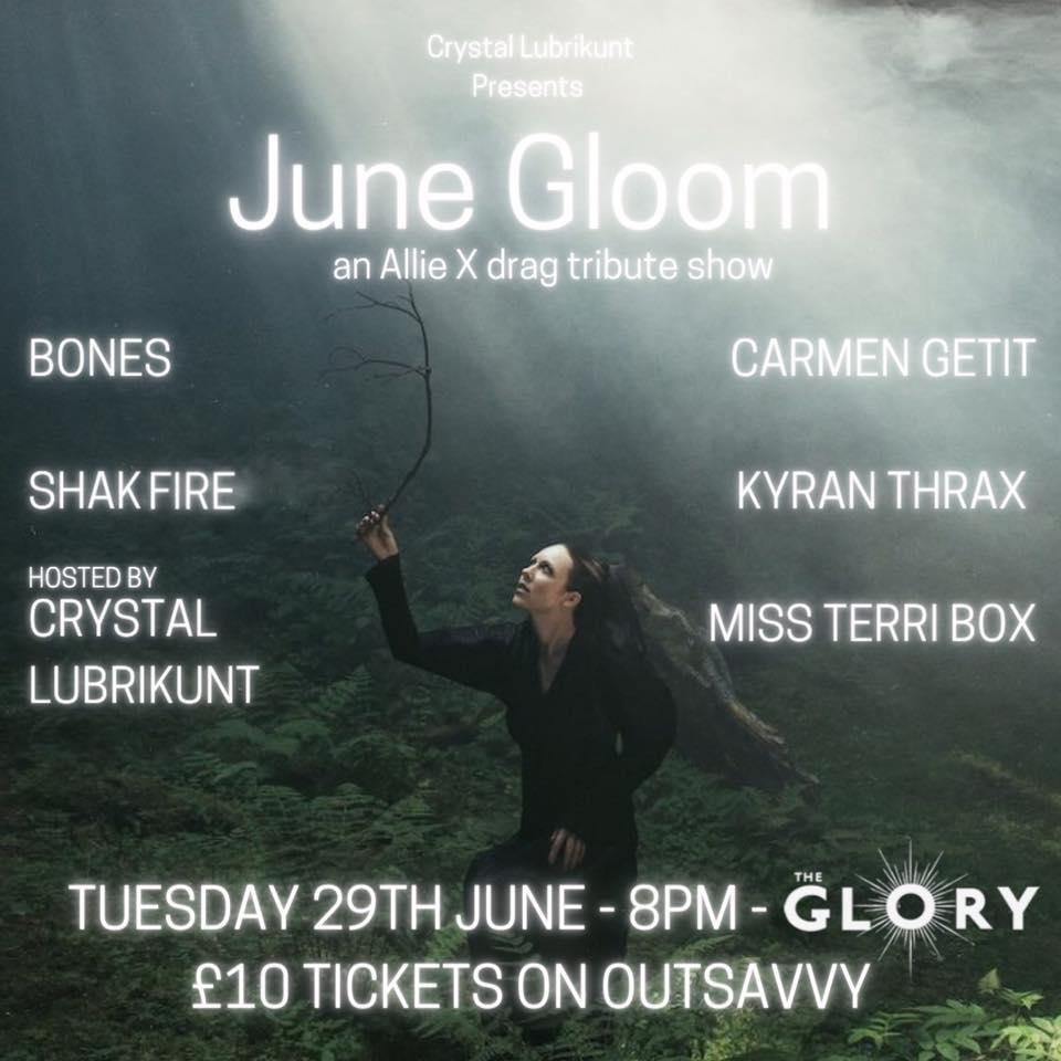 June Gloom: An Allie X Drag Tribute Show