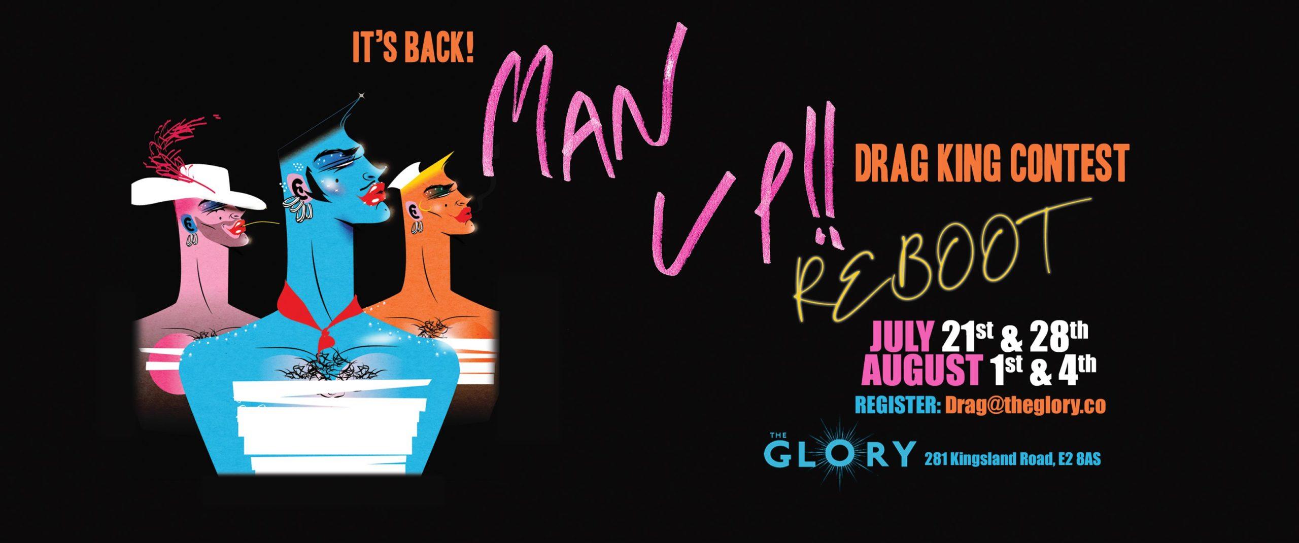 Man Up! Drag King Contest – Heat 9