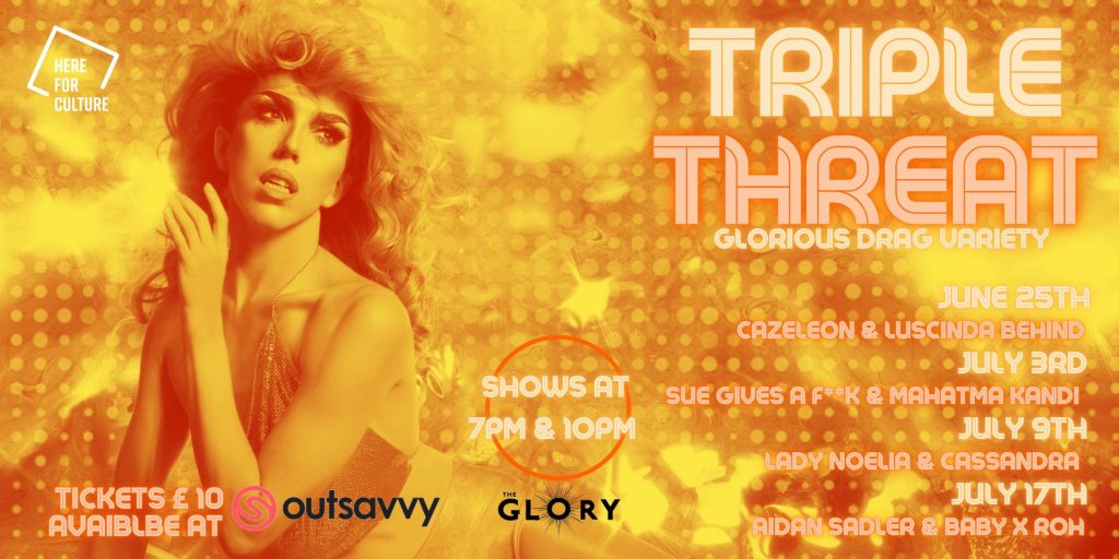 triple threat at the glory