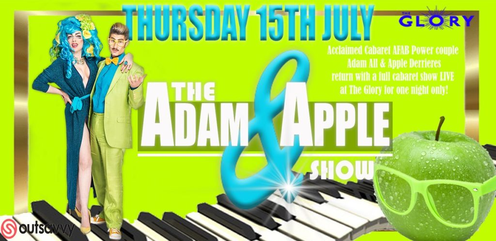 adam and apple at the glory