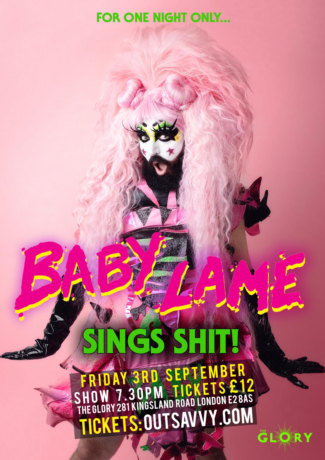Baby Lame Sings Shit!
