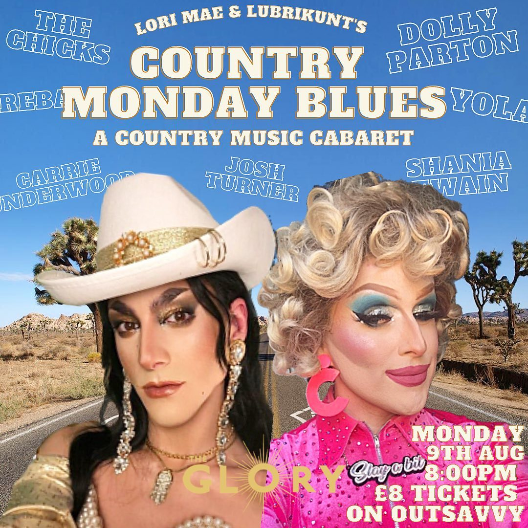 Lori Mae & Lubrikunt's COUNTRY MONDAY BLUES