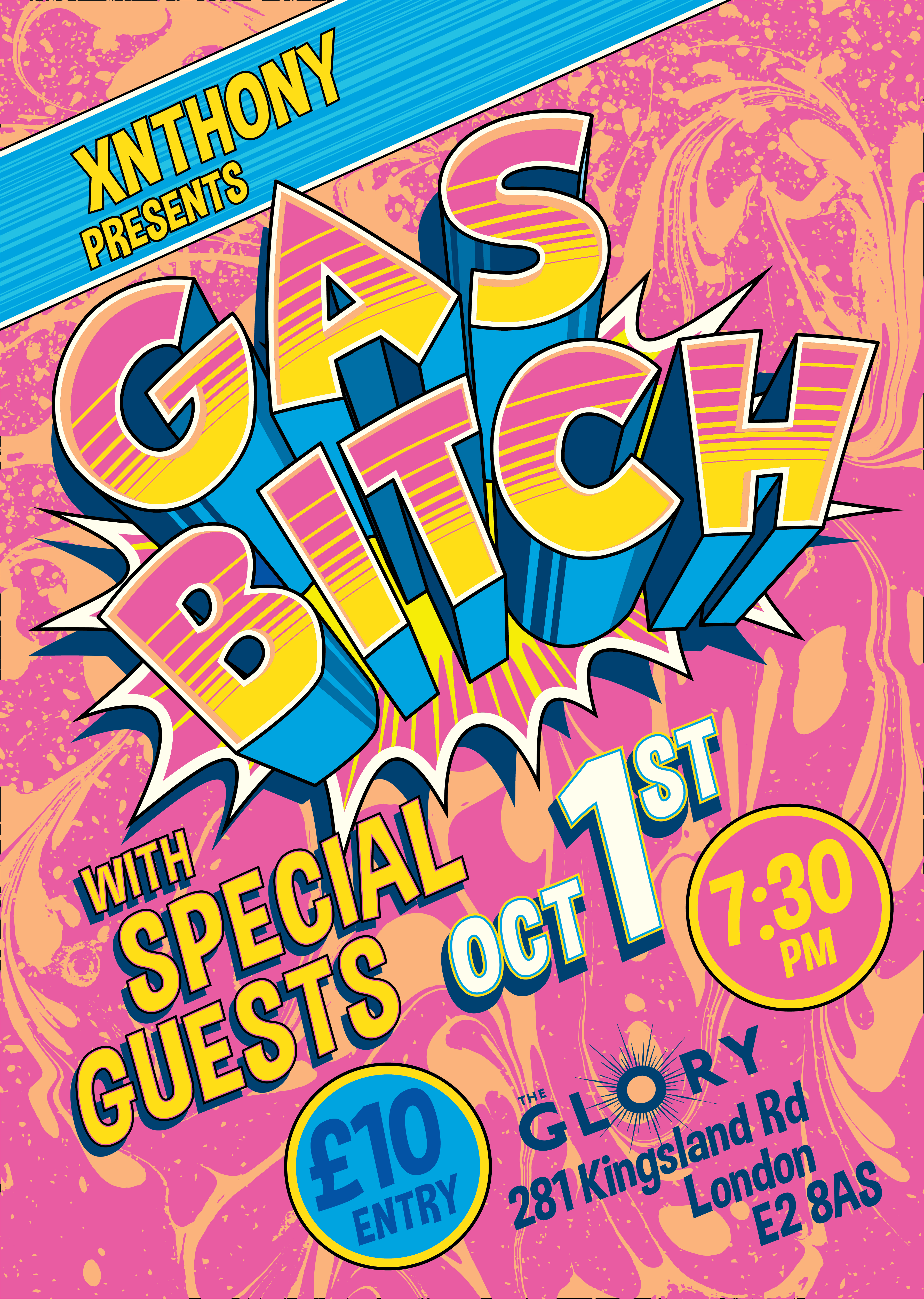 Gas Bitch! A night of GAS comedy with Xnthony