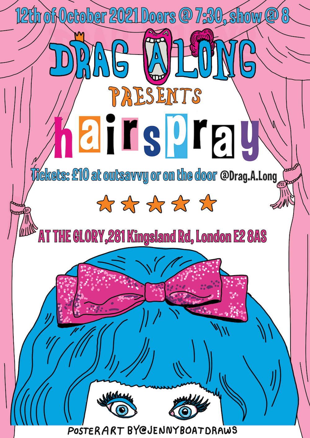 Drag-a-long: Hairspray