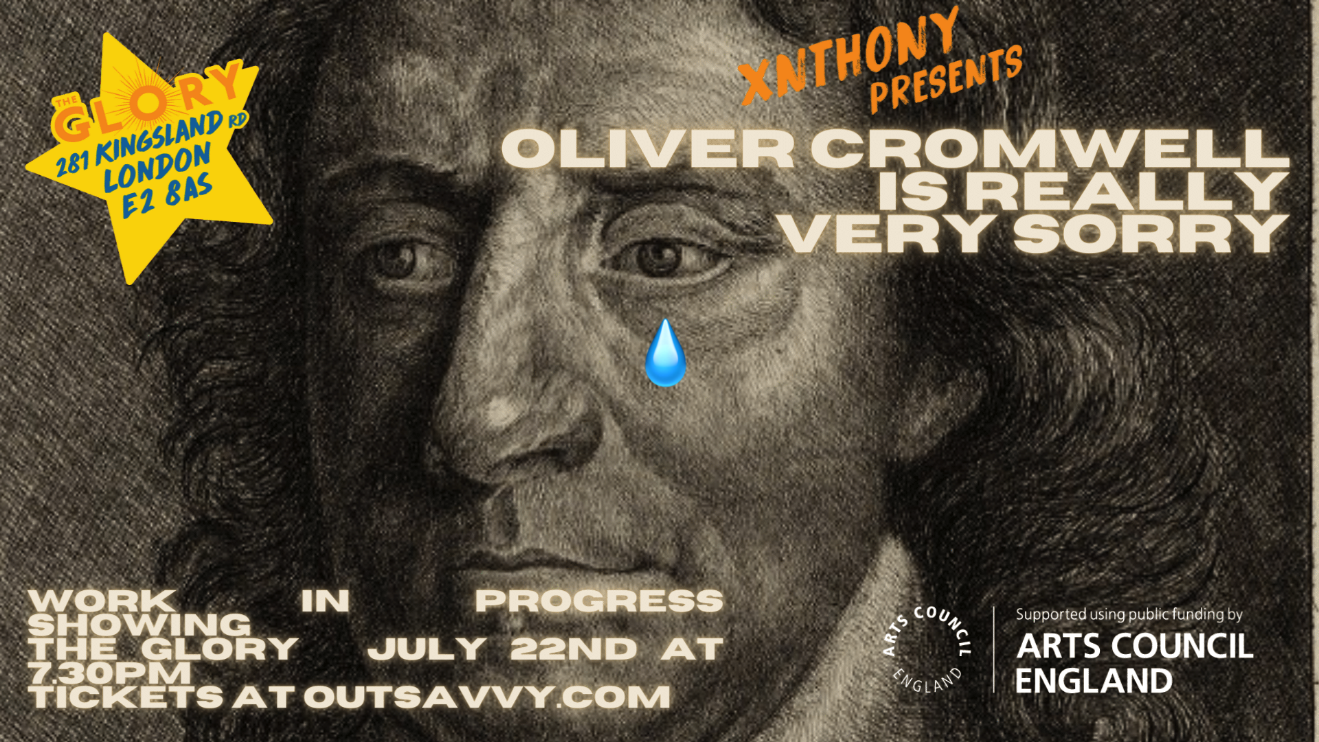 Oliver Cromwell is Really Very Sorry