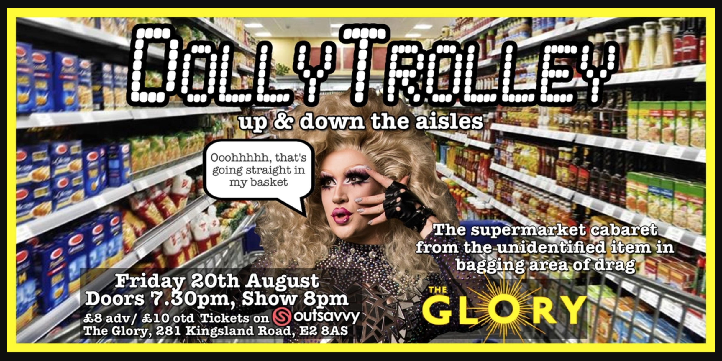 Dolly Trolley: Up & Down the Aisles