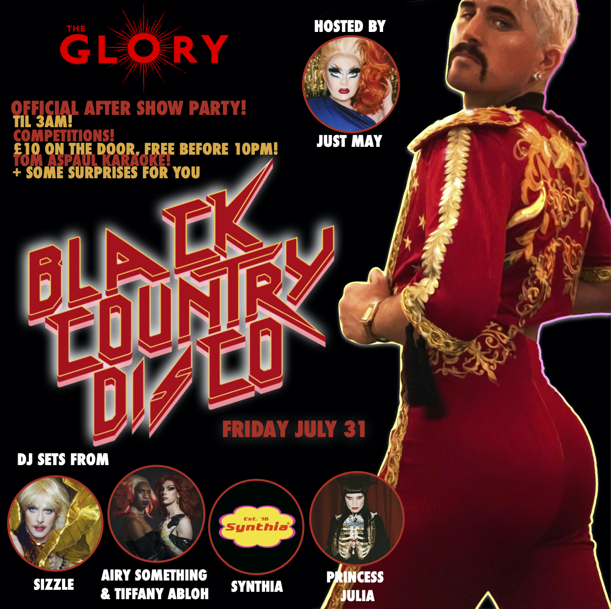 Black Country Disco – Official After Show Party